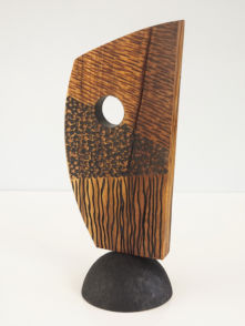 Sculpture- textured, carved and dyed
